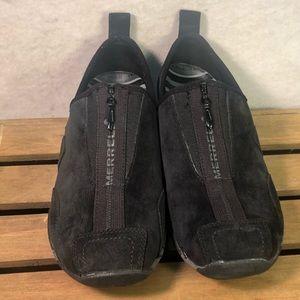 Merrell barrado Suede zippered shoe womens 9